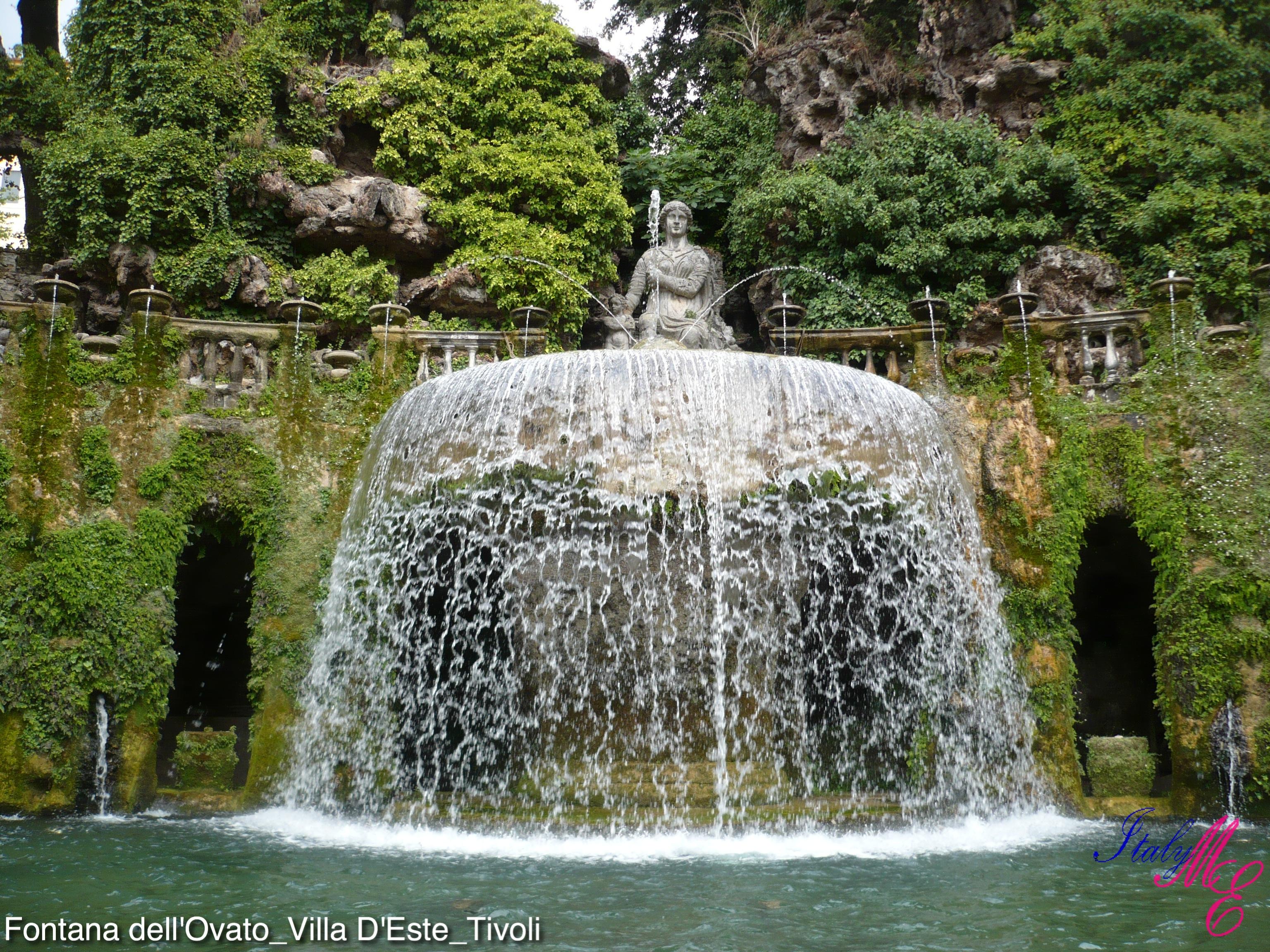 Giardino dei punti e fontane a cascata per giardino - Fontane a cascata da giardino ...