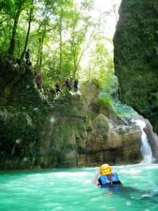 canyoning-lazio