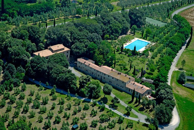 Toscana - Pisa - Tenuta Quarrata - Veduta Aerea