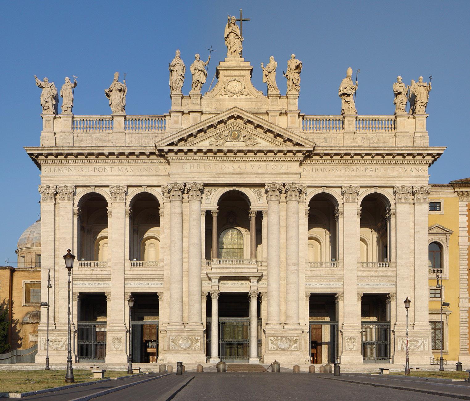 Quattro Chiese Papali San Giovanni Roma